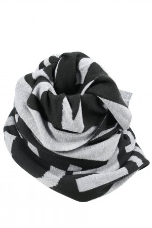 Riani Knitted Scarf light grey-black allover print casual look