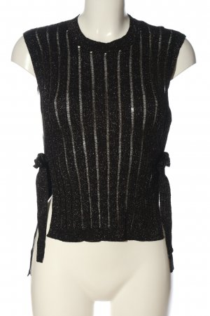Riani Top lavorato a maglia nero stile casual