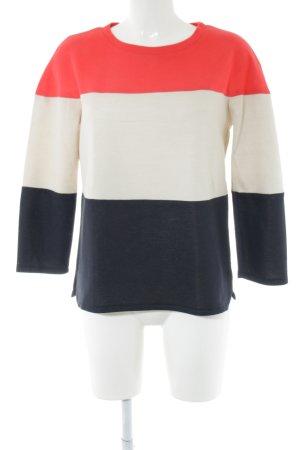 Riani Sweatshirt Streifenmuster Casual-Look