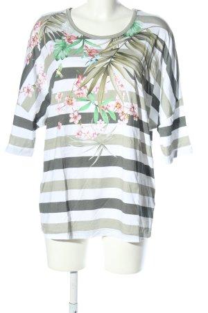 Riani T-Shirt Blumenmuster Casual-Look
