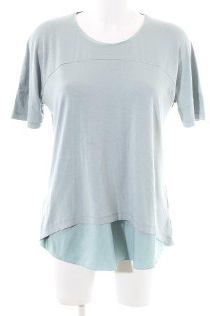 Riani T-Shirt hellgrau-türkis Casual-Look