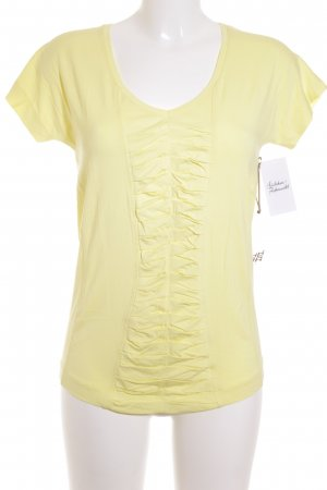 Riani T-Shirt blassgelb Casual-Look