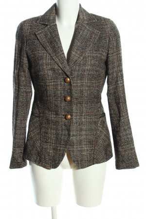 Riani Tweedblazer hellgrau-braun Karomuster Business-Look