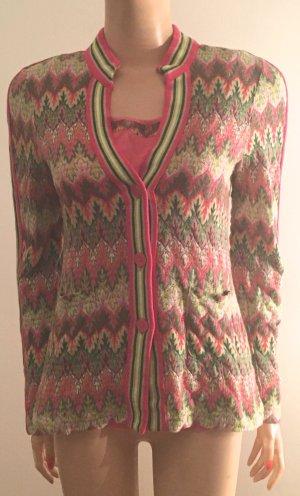 Riani Twin-Set pink mehrfarbig Gr. 38