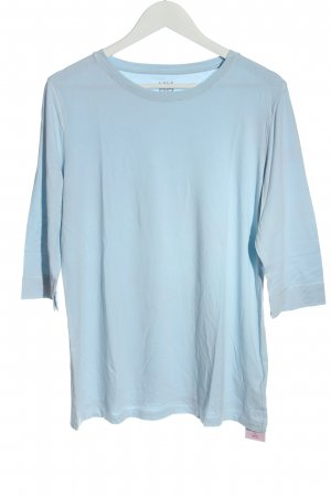 Riani Boatneck Shirt blue casual look
