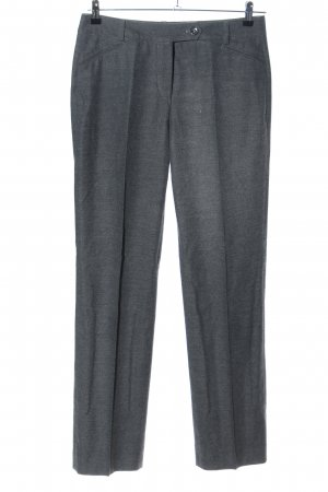 Riani Woolen Trousers light grey flecked business style