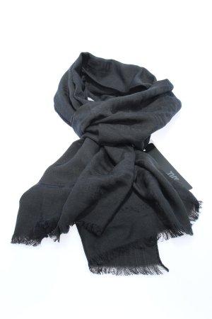 Riani Sciarpa di lana nero stile casual