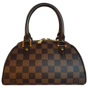 Ribera Leinen Handtaschen Louis Vuitton