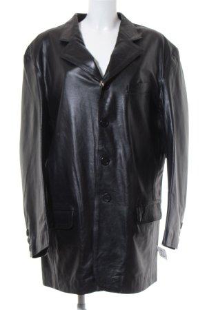 Ricano Leather Jacket black