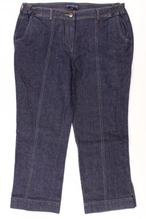 7/8 Length Jeans blue-neon blue-dark blue-azure cotton