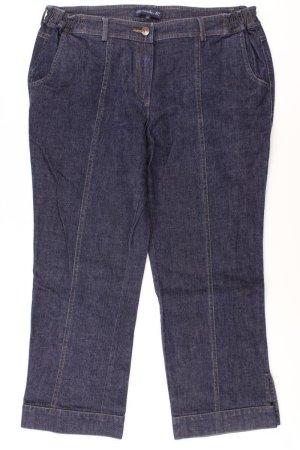 7/8-jeans blauw-neon blauw-donkerblauw-azuur Katoen
