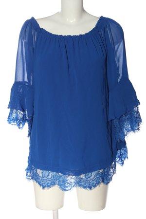 Ricarda M Carmen Blouse blue elegant
