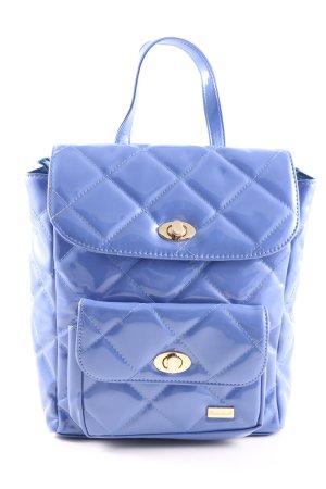 Ricarda M Handtasche blau Steppmuster Business-Look