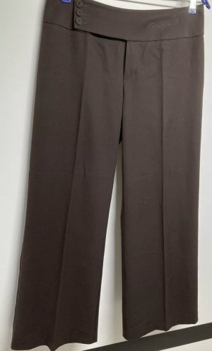 Ricarda M Pleated Trousers dark brown