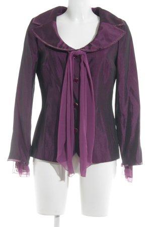 Ricarda M Kurz-Blazer purpur extravaganter Stil