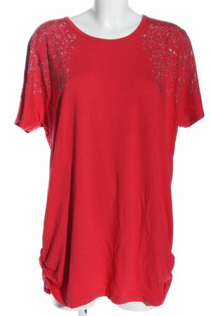 Ricarda M Short Sleeved Blouse red casual look