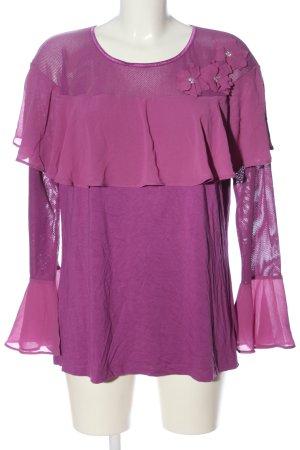 Ricarda M Long Sleeve Blouse pink casual look