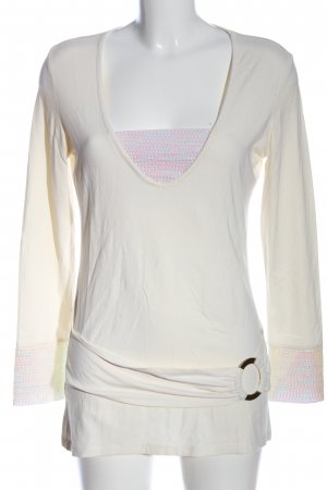 Ricarda M Long Shirt white casual look