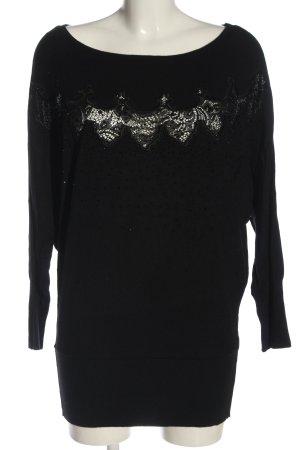 Ricarda M Crewneck Sweater black casual look