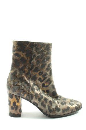 Riccardo Cartillone Botte courte motif léopard style décontracté