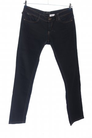 rich and royal Straight-Leg Jeans schwarz Casual-Look