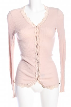 rich and royal Strick Cardigan pink Casual-Look