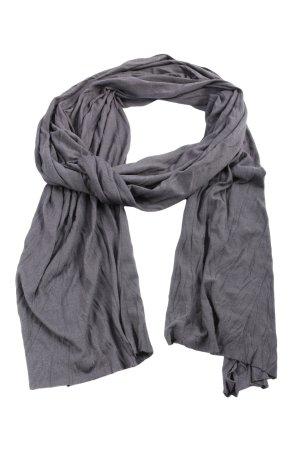 rich and royal Sciarpa lavorata a maglia grigio chiaro stile casual
