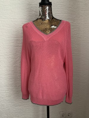 Rich & Royal Long Sweater pink