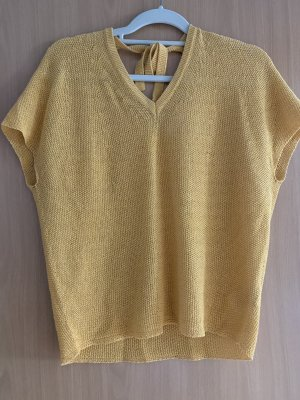 Rich & Royal Empiècement de blouses doré