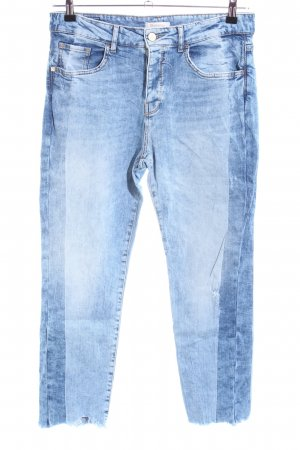 Rich & Royal 7/8-jeans blauw casual uitstraling