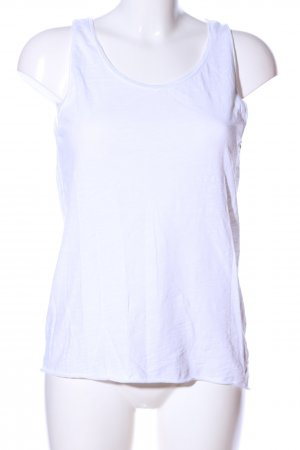 Rich & Royal Top linea A bianco stile casual