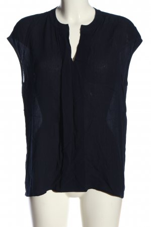 Rich & Royal ärmellose Bluse blau Elegant