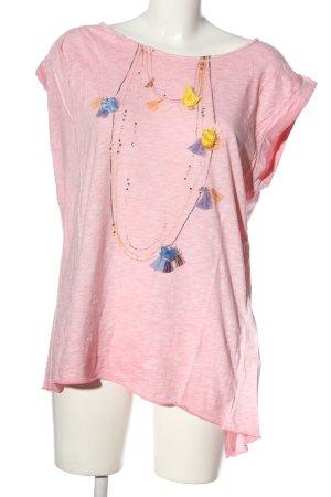 Rich & Royal ärmellose Bluse pink Casual-Look