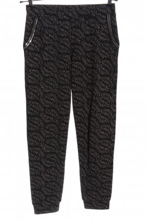 Rich & Royal Baggy Pants Allover-Druck Casual-Look