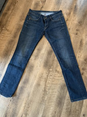 Rich & Royal Jeansy z prostymi nogawkami ciemnoniebieski