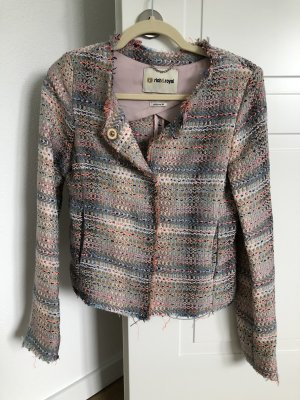 Rich & Royal Blazer 36 Boucle Rosa blau