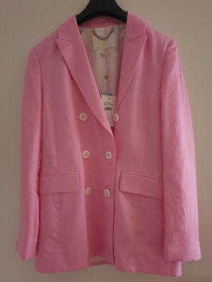 Rich & Royal Klassischer Blazer rosa
