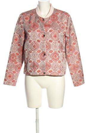 Rich & Royal Blouson rose-blanc cassé motif abstrait style décontracté