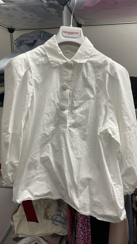 Rich & Royal Blouse Shirt white