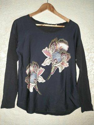 Rich & Royal Blouse Shirt multicolored cotton