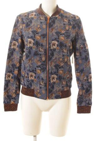 Rich & Royal Bomberjacke florales Muster Street-Fashion-Look