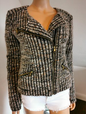 Rich & Royal Knitted Blazer multicolored