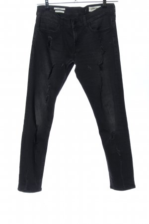 Rich & Royal Boyfriendjeans schwarz Casual-Look