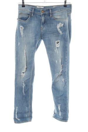 Rich & Royal Boyfriend jeans blauw casual uitstraling