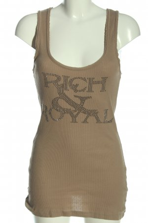Rich & Royal Camisola blanco puro letras impresas look casual
