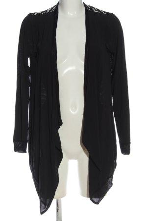 Rich & Royal Cardigan schwarz-weiß Casual-Look