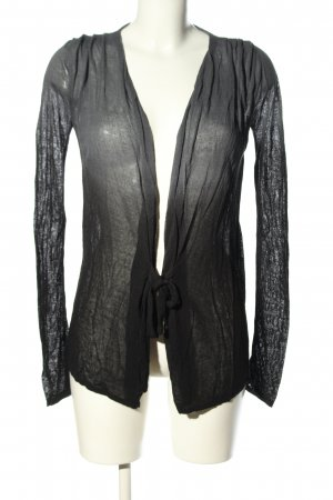Rich & Royal Cardigan hellgrau-schwarz Farbverlauf Casual-Look