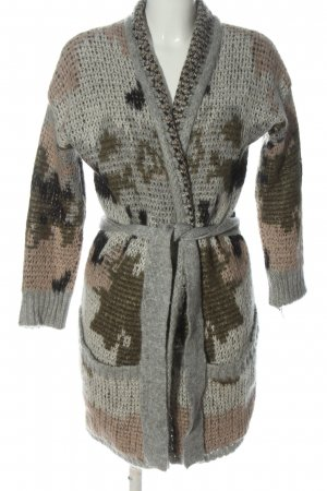 Rich & Royal Cardigan abstract pattern casual look