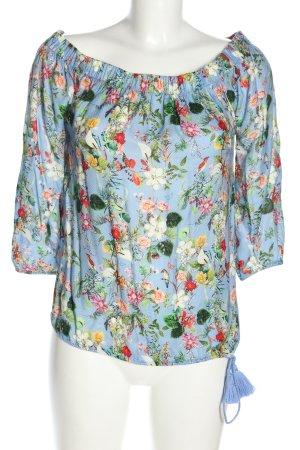Rich & Royal Carmen blouse volledige print casual uitstraling