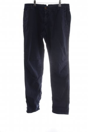 Rich & Royal Chinohose dunkelblau Casual-Look
